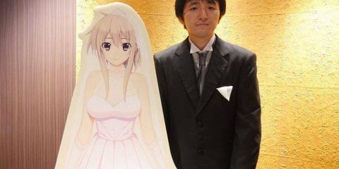 pria jepang menikahi karakter anime