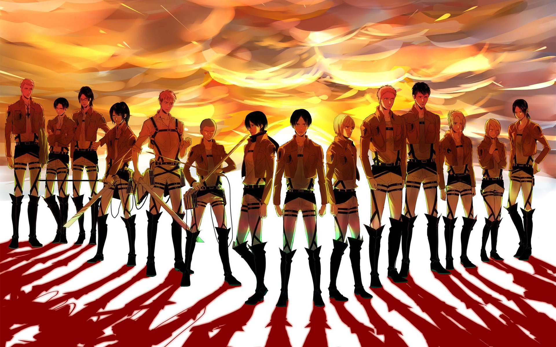 anime Attack on Titan