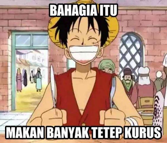 Meme Anime Lucu One Piece Luffy