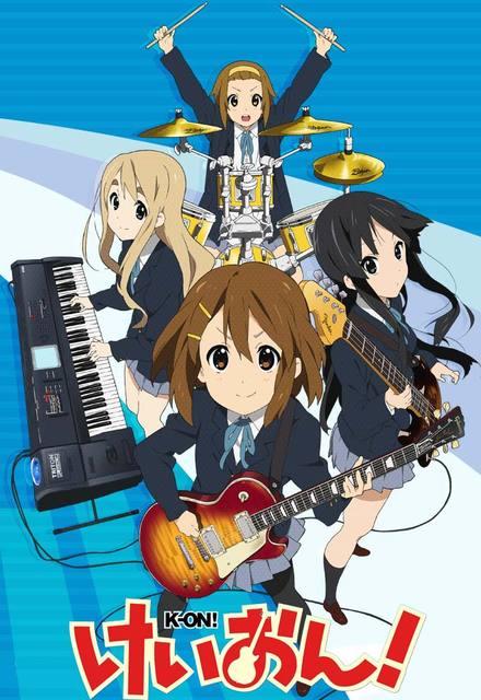 K-ON! - Anime dan manga musik terbaik