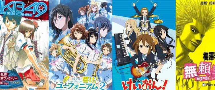 anime dan manga musik terbaik