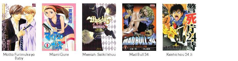 90+ Anime dan Manga Polisi Terpopuler dan Terbaik