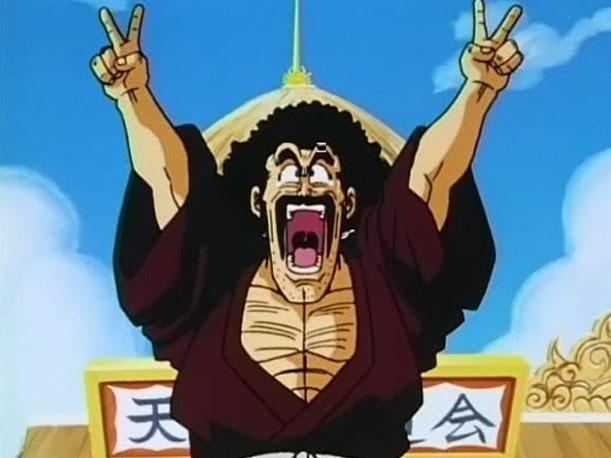 Tokoh atau karakter anime berambut afro