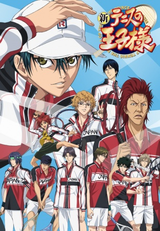 New Prince of Tennis - manga tenis