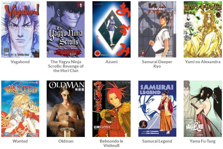 daftar manga abad ke-17