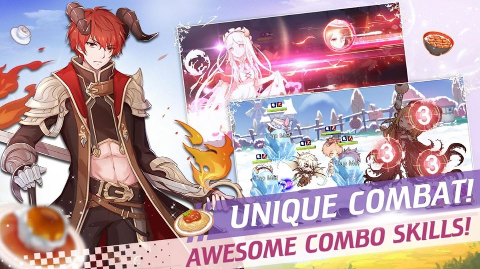 Game Anime Memasak Makanan Android - food fantasy
