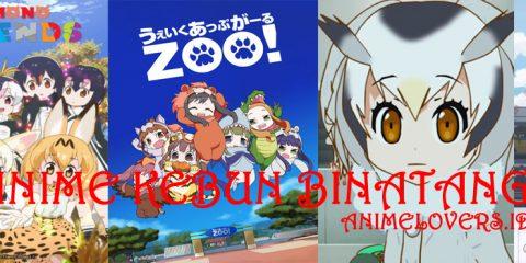 Anime dengan tema kebun binatang