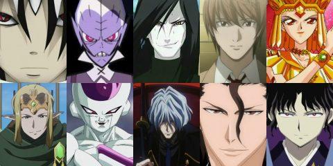 karakter penjahat dalam anime dan manga
