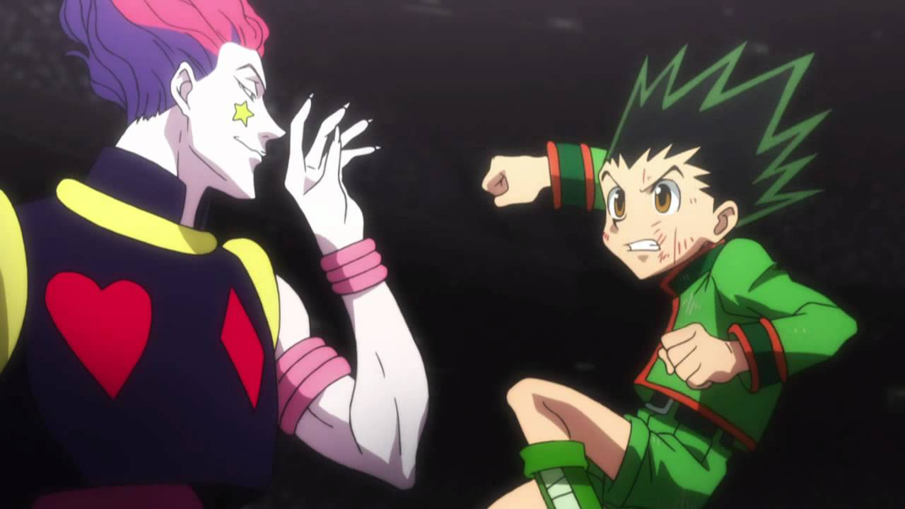 rivalitas karakter anime