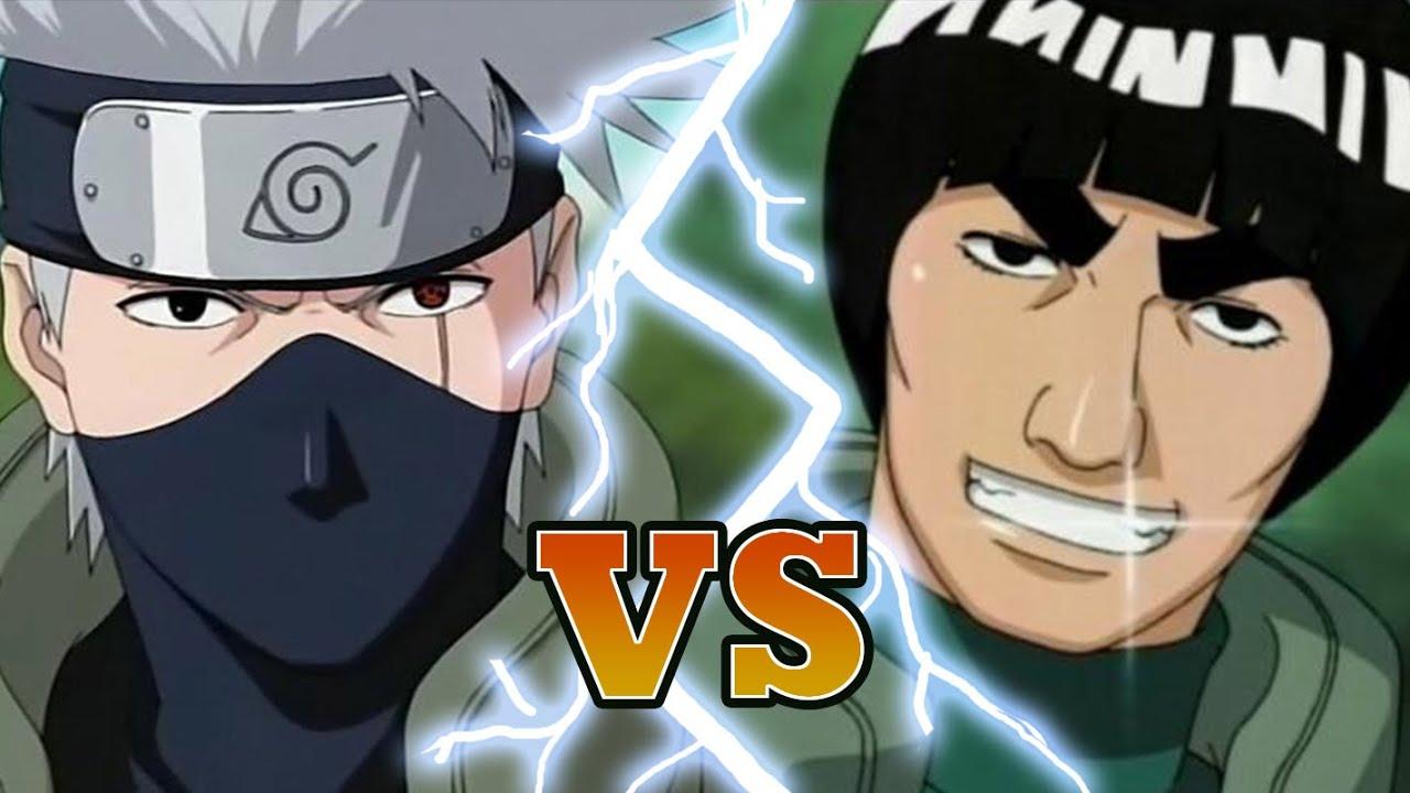 kakashi vs guy