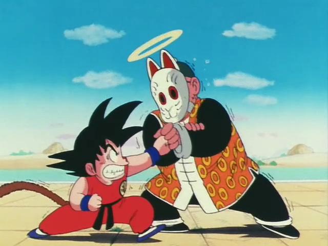 Goku-VS-Grandpa-Gohan-dragon-ball