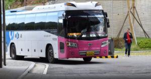 cara naik bus di jepang