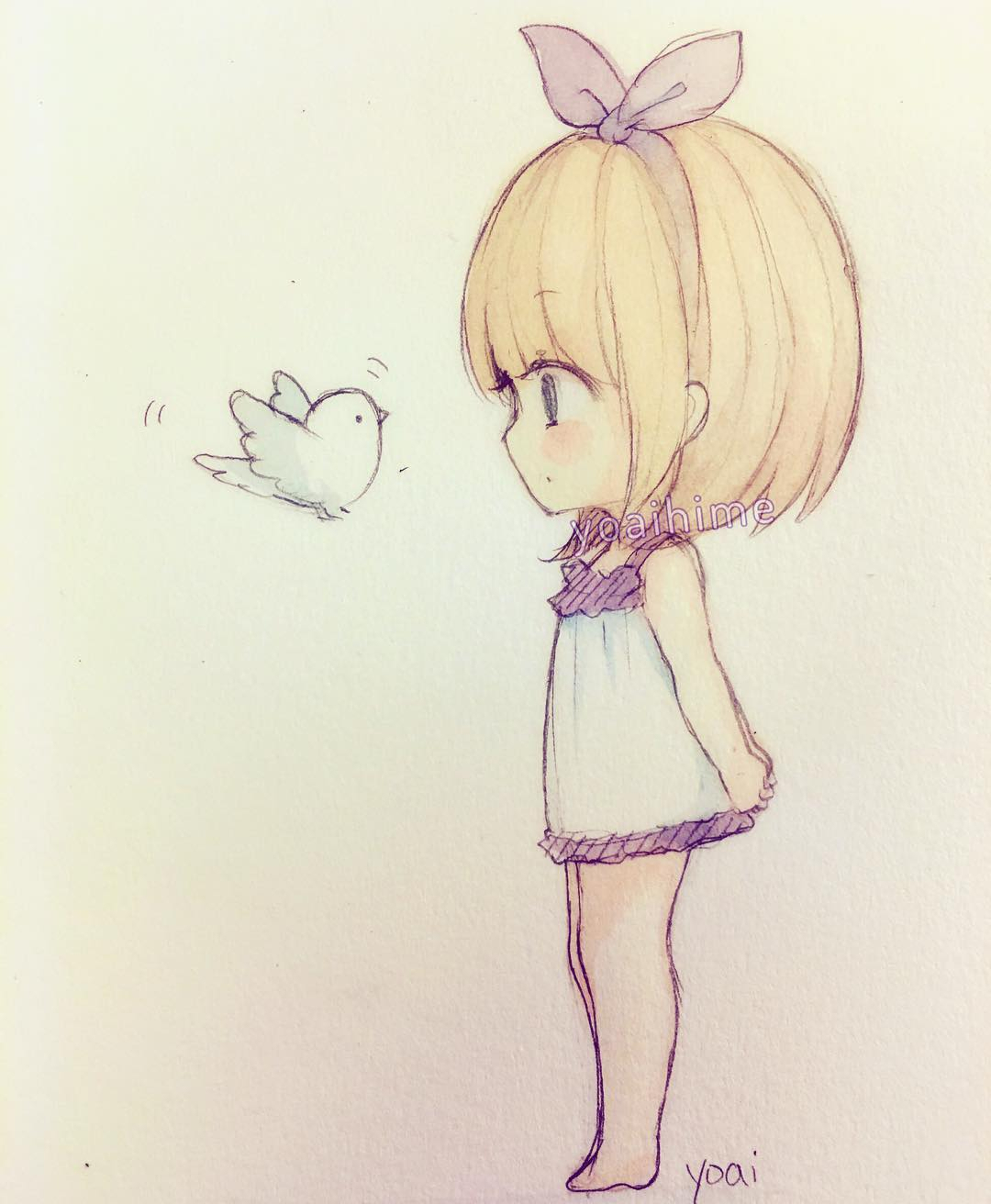 Easy cute anime drawings chibi drawing in pencil anime for easy