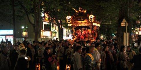 Festival Kegelapan Kuil Okunitama