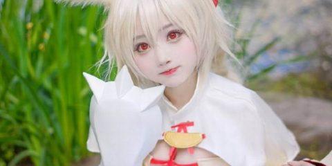 cosplay gadis kelinci