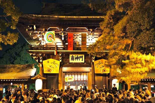 festival Kuil Meiji