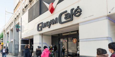Berkunjung ke Gundam Cafe & Bar Akihabara